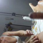 【脱毛サロン】セクシーな格好の巨乳白人熟女によるブラジリアンワックス施術