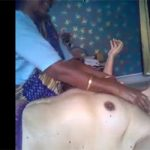 【インド式マッサージ店】妻がマッサージを受ける様子を旦那が撮影した動画