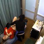 【脱毛サロン盗撮動画】VIOラインのブラジリアンワックス脱毛を受ける女性客