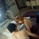 【中国民家盗撮動画】彼女とイチャつく彼氏、そんなカップルの日常風景