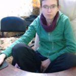 【Webcamハッキング盗撮動画】地味なメガネのお姉さんがマンコとPCを同時にいじる様子
