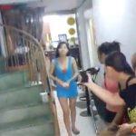 【ベトナムマッサージ店盗撮動画】店先にたむろってる女の子の中から好きな子を選び奥へ・・・