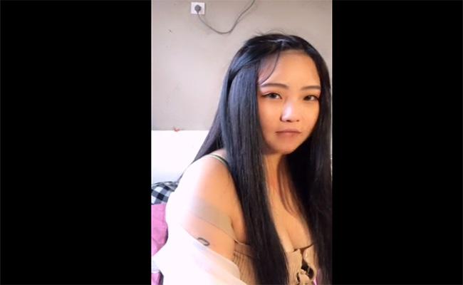 【ライブチャット動画】「恵まれた顔立ちからクソみたいな身体」そんな中国のチャットレディー