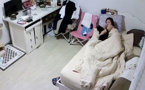 【民家盗撮動画】同棲中な若いカップルのセックス含む日常風景