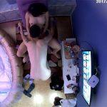 【ラブホテル盗撮動画】敢えてベッドじゃなくリクライニングチェアーで行為に及ぶカップル