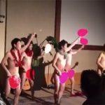 【裸踊り】結婚式の余興で裸踊りを披露する若い子達(ポロリ有)