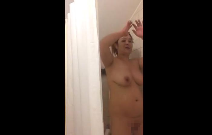 【お風呂動画】こういう肉感的で豊満なオバちゃんが大好きだ