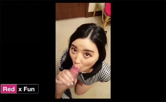 【海外風俗盗撮動画】韓国のソウルにあるらしい「キスバー(KissBar)」でフェラチオして貰う様子を隠し撮り!