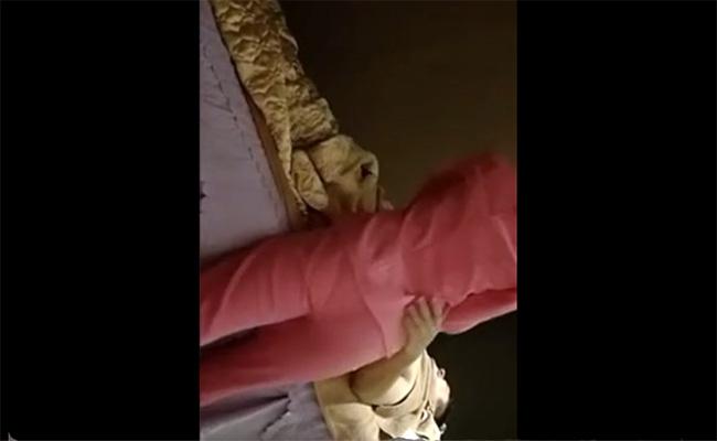 【マッサージ店盗撮動画】一見健全店そうな服装のマッサージ嬢によるSPサービス