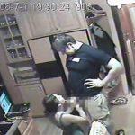 【民家盗撮動画】キッチンにてPCで調べ物をしていた妻・・・の所にやってきてフェラを求める夫