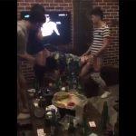 【個人撮影】カラオケで乱交してるDQNグループがスマホ撮影した動画