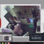 【監視カメラハッキング動画】女の子が共同生活を送る部屋の様子をこっそり覗き見