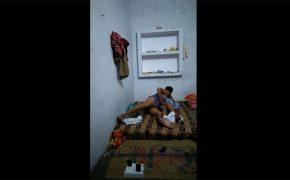 【民家風呂盗撮動画】インド人カップルのいつものセックスを覗いてみた動画