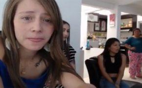 【キチガイ動画】母の真横で自慰行為に挑戦する「オナニーチャレンジ」