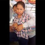 【セクハラ動画】おっさんにベタベタ身体を触られ心底嫌そうな顔をする女性