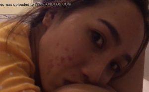 【個人撮影】ニキビに若さを感じる女の子のフェラチオ