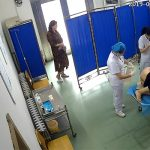 【病院盗撮動画】朗らかに性器を触診される女性患者