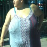 【街中盗撮動画】推定体重150kg以上なわがままボディーの女子を隠し撮り