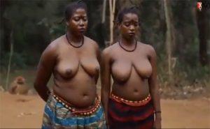 【世界の射精から】おっぱい丸出しで生活しているアフリカ原住民