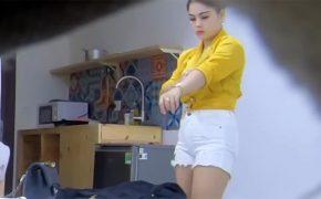 【タイ高級コールガール盗撮動画】恐らくはそこそこ高いお店から派遣されてきた嬢とのプレイ