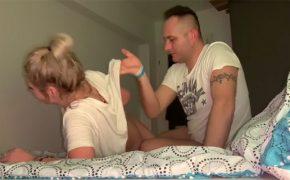 【民家盗撮動画】ファンキーなモヒカン彼氏とその彼女のラブラブな性行為
