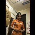 【飲食店更衣室盗撮動画】アルバイト店員が制服に着替える様子を隠し撮り