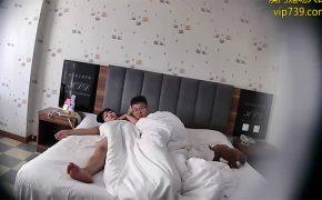【ラブホテル盗撮動画】トイプードル同伴でホテルにやってきたカップル