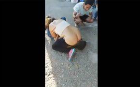 【パリピ隠し撮り動画】酔っ払ったビッチ、パンツ脱いで強引に男の顔面に跨る