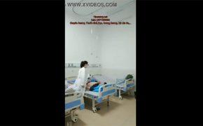 【病院盗撮動画】ガチの病院でイチャつく女医と患者