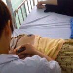 【おっぱいマッサージ動画】乳首をマッサージして母乳の分泌を促進するお母さん達